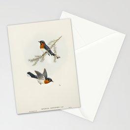 Birds on a branch Stationery Cards