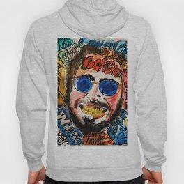 rockstar,rapper,rap,white iverson,stone,poster,fan art,wall art,dope,street art,graffiti,gold,pop Hoody
