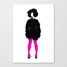 Pink pants Canvas Print