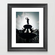 Heavenly Fountain Framed Art Print
