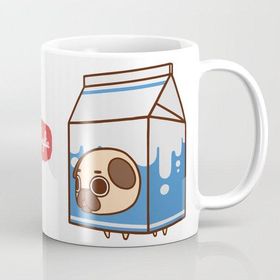 Puglie Milk Carton Mug By Puglie Pug Society6