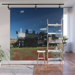 Cumbres And Toltec Engine 494 Wall Mural
