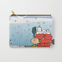 Charlie Brown Snoopy Carry-All Pouch