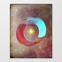 compass Canvas Prints featuring Compass by Iris Lehnhardt