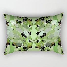 Rainforest Eye Rectangular Pillow