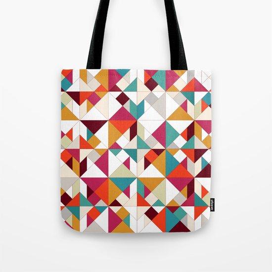 tangram geo Tote Bag