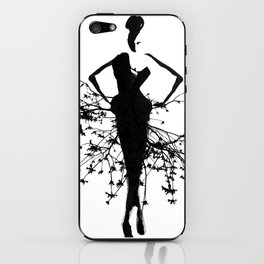 Goddess art print iPhone Skin