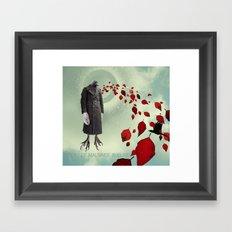 Oiseau de Mauvaise Augure Framed Art Print