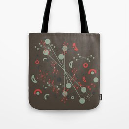 Atomic Autumn Tote Bag