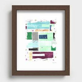 Above the Weather I Recessed Framed Print