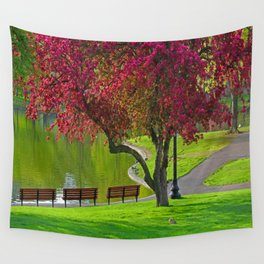 The park  Wall Tapestry