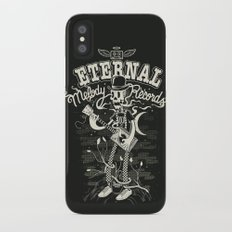 Eternal melody records iPhone X Slim Case