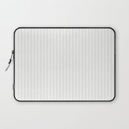Creamy Tofu White Mattress Ticking Narrow Striped Pattern - Fall Fashion 2018 Laptop Sleeve
