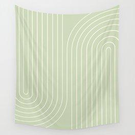 Minimal Line Curvature XXII Wall Tapestry