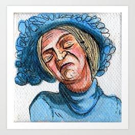 Doña Clotilde Art Print