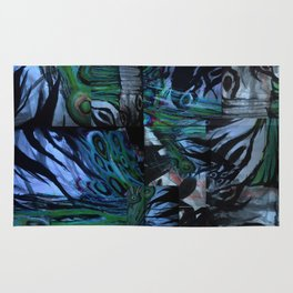 The Abstraction of Utopia and Oblivion  Rug
