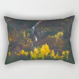 Fall Falling Rectangular Pillow