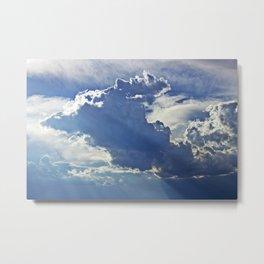 Partly Cloudy II Metal Print