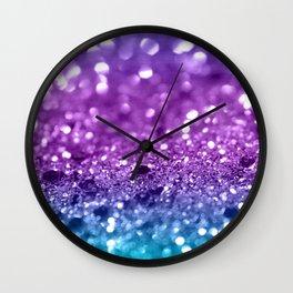 Unicorn Girls Glitter #19 #shiny #decor #art #society6 Wall Clock