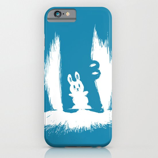 cornered! (bunny and crocodile) iPhone & iPod Case