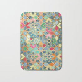 Gilt & Glory - Colorful Moroccan Mosaic Bath Mat