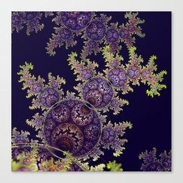 Dragon spirals with Orbs Canvas Print