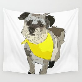 Thor the Rescue Dog Wall Tapestry