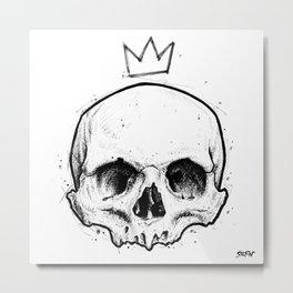 King of fools Metal Print