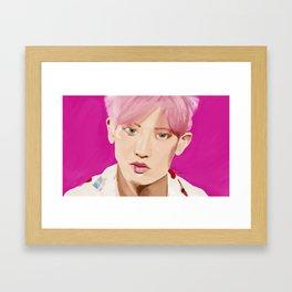 Park Chanyeol- KoKo Bop Framed Art Print