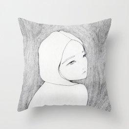 Naked Throw Pillow