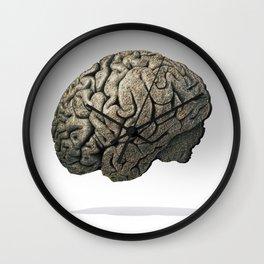 Stone Brain Wall Clock