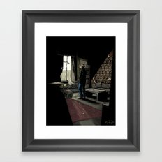 To Build A Home - Coloured Version Framed Art Print