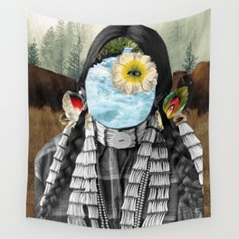 Water Protector Wall Tapestry