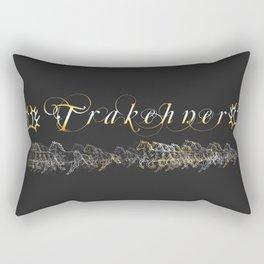 Trakehner Horses Fan-Laptopskin Rectangular Pillow
