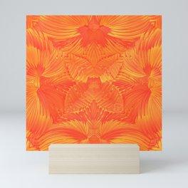 Orange Garden Mini Art Print