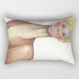 Deer Child Rectangular Pillow