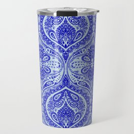 Simple Ogee Blue Travel Mug