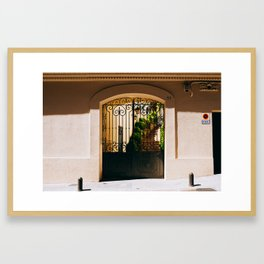Gràcia - Barcelona, Spain - #9 Framed Art Print