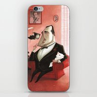 godfather iPhone & iPod Skins featuring The Godfather Tribute by Daniela Volpari