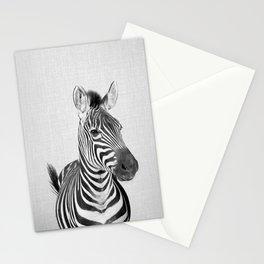 Zebra 2 - Black & White Stationery Cards