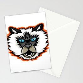 Himalayan Cat Mascot Stationery Cards