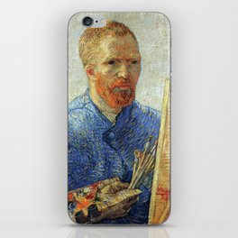 Vincent Van Gogh Self Portrait As An Artist iPhone Skin