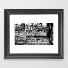 A world of cheese Framed Art Print