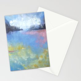 Memory of Lake crescent Stationery Cards