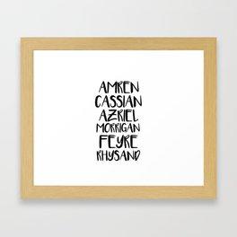 INNER CIRCLE Framed Art Print