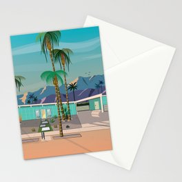 Palm Springs Vacation Home Stationery Cards