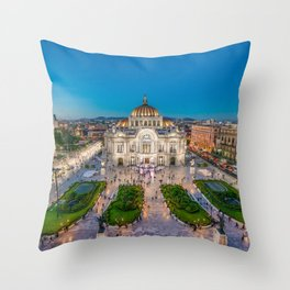 Bellas Artes 3 Throw Pillow