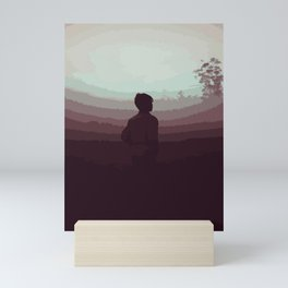 Waiting the Sunrise Mini Art Print