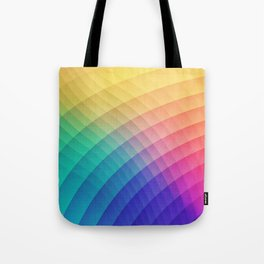 Spectrum Bomb! Fruity Fresh (HDR Rainbow Colorful Experimental Pattern) Tote Bag