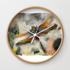 Dragonfly Garden - Wall Clock